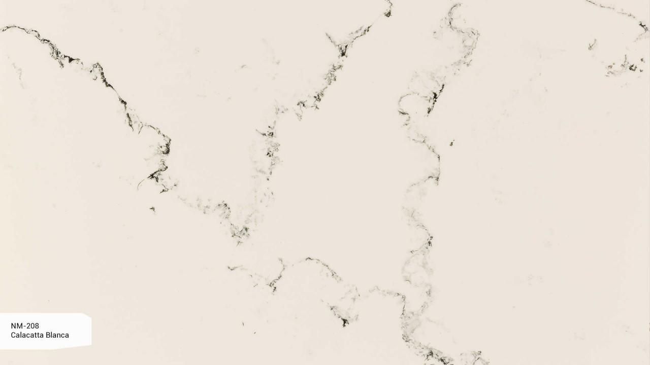 NM-208 Calacatta Blanca